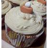 Captain Morgan's Spiced Cupcake w/ Pumpkin Pie Topper